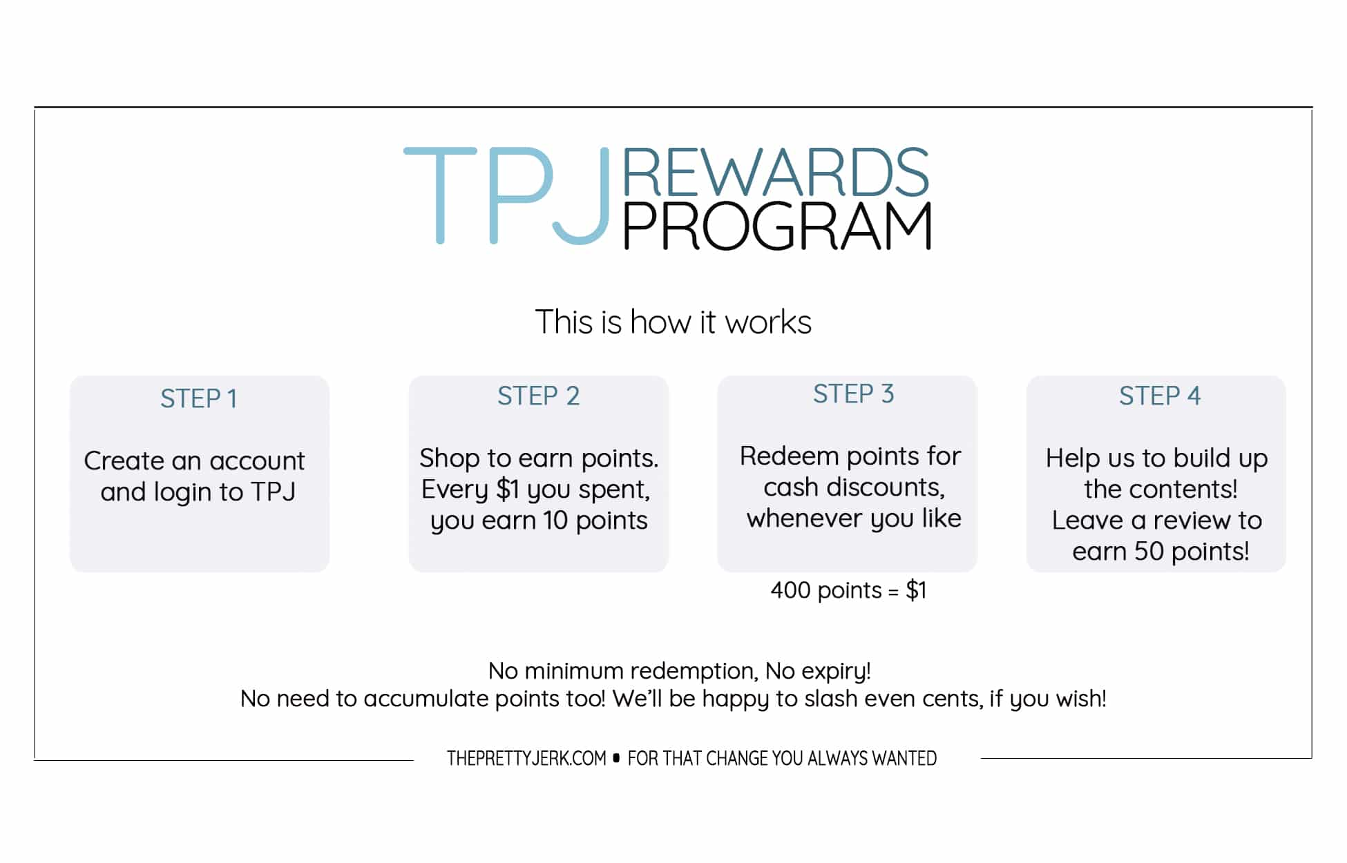 TPJ rewards program